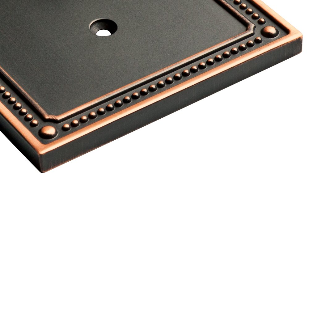 Franklin Brass W35064-VBC-C Classic Beaded Double Duplex Outlet Wall Plate / Switch Plate / Cover, Bronze with Copper Highlights by Franklin Brass (Image #5)
