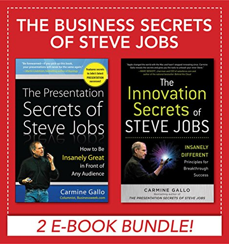 Business Secrets of Steve Jobs: Presentation Secrets and Innovation secrets all in one book! (EBOOK (Profit Ipod)