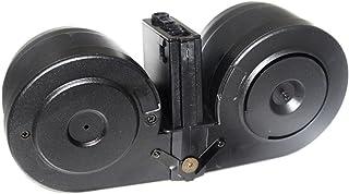 Airsoft Accessories BATTLEAXE 2500rd Drum Electric C-Mag Magazine Pour AEG M-Series AEG