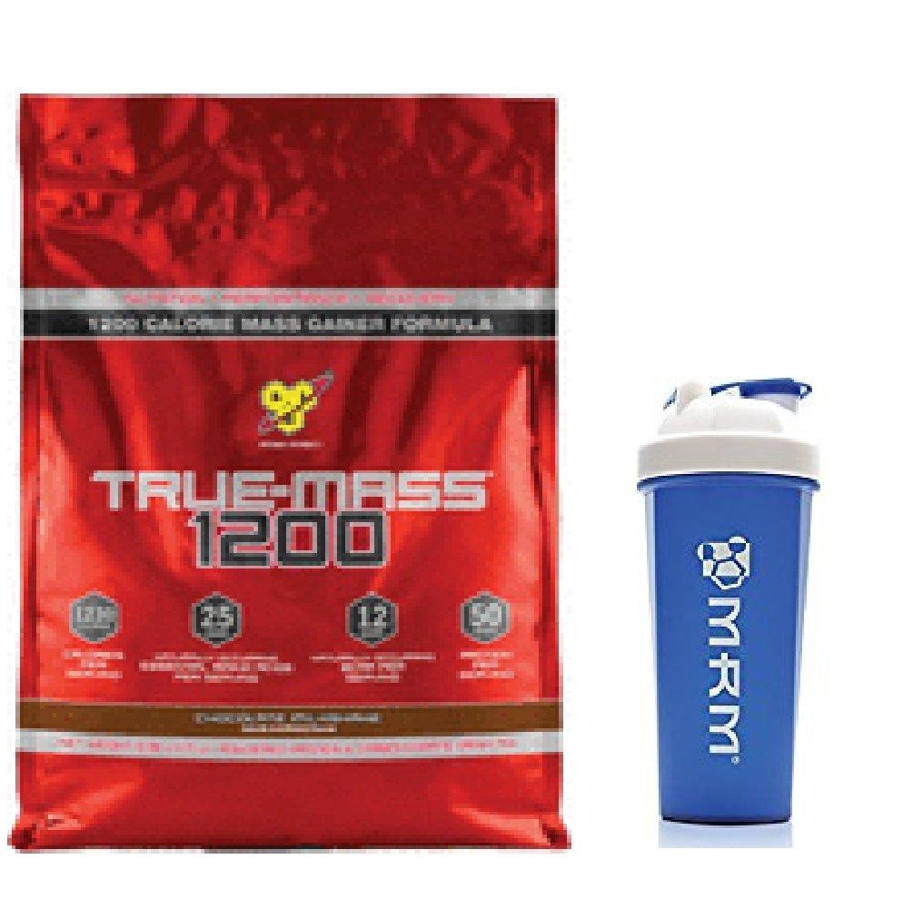 【シェイカーセット】 トゥルーマス 1200 4.7kg (True-Mass 1200 10.25 lbs) (ストロベリーミルクシェイク(Strawberry Milkshake)) [並行輸入品] B01MT1LP7I ストロベリーミルクシェイク(Strawberry Milkshake)