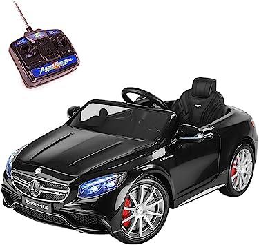 Playkin MERCEDES BENZ S63 12V batteria auto elettrica a