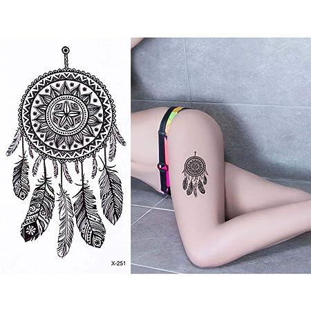 adgkitb 5 Piezas Tatuaje de Cuerpo Coloreado Impermeable diseño de ...