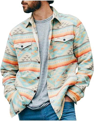 Sylar Camisas Hombre Otoño Invierno Camisas Manga Larga con ...