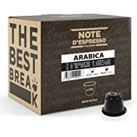 Note d'Espresso - Arábica - Cápsulas de Café - Compatibles con Cafeteras NESPRESSO* - 100 caps
