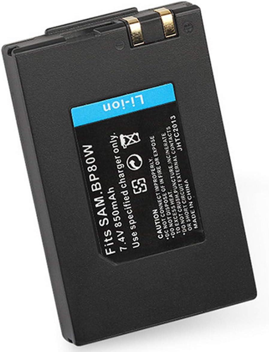 Battery VP-DX100H Digital Camcorder VP-DX100i VP-DX100 and LCD USB Charger for Samsung VPDX100 2-Pack