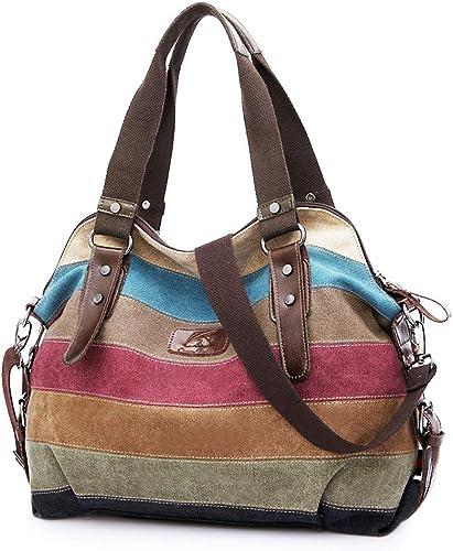 Canvas Handbag SNUG STAR Multi-Color