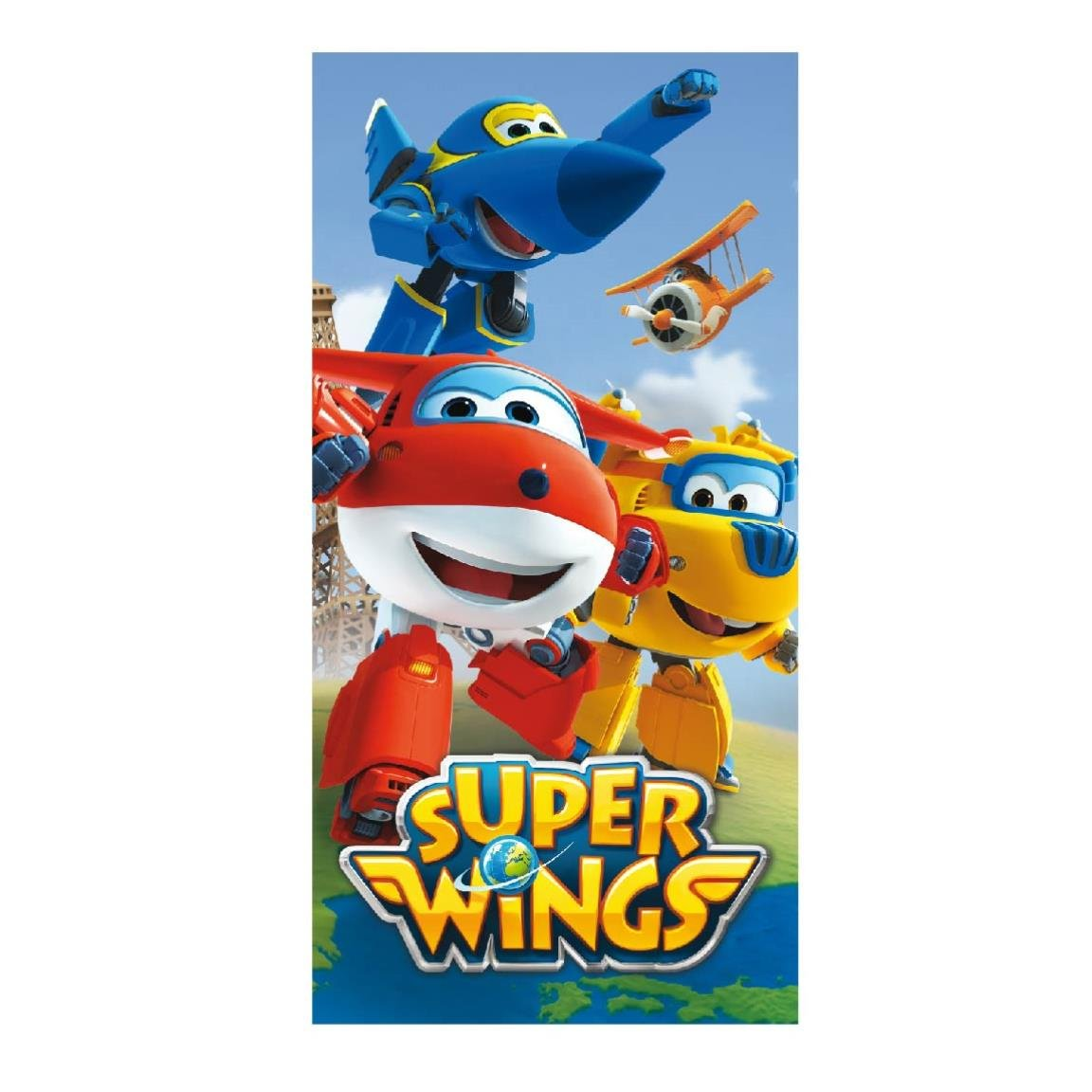 Made in Trade - Super Wings Serviette en Coton, 2200002166 Cerda