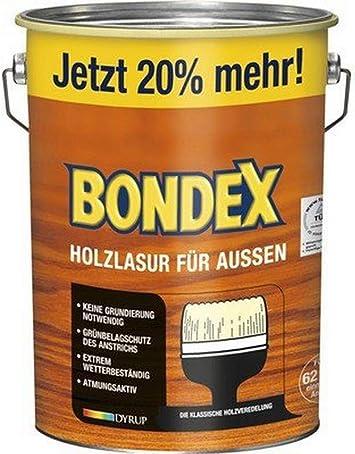 Bondex – Barniz para madera de exterior (4,8 l): Amazon.es: Bricolaje y herramientas