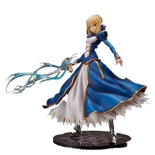 YSYYSH Modelo De Muñeca De Anime Falda Azul Modelo De Estatua De ...
