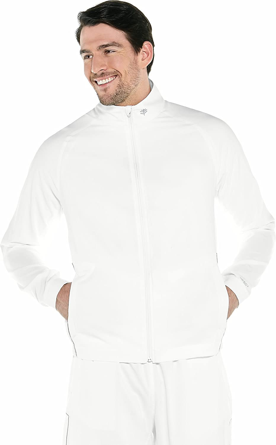 Mens Outpace Sport Jacket Sun Protective Coolibar UPF 50