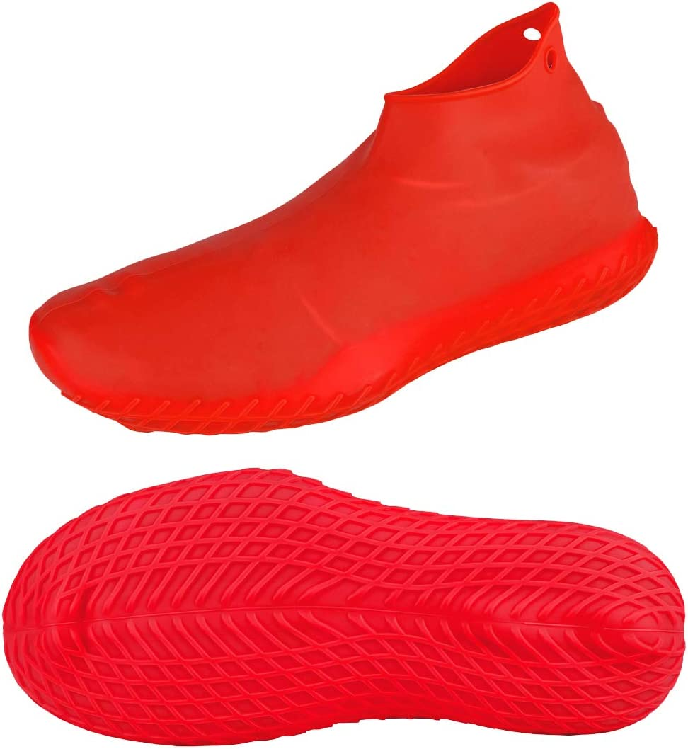No-Slip Silicone Rubber Shoe Protectors for Kids,Men and Women LEGELITE Reusable Silicone Waterproof Shoe Covers