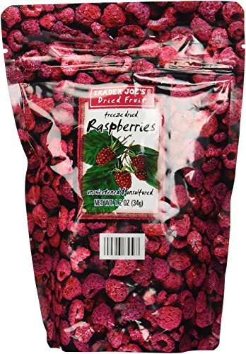 Trader Joe's Freeze Dried Raspberries Unsweetened & Unsulfured ()