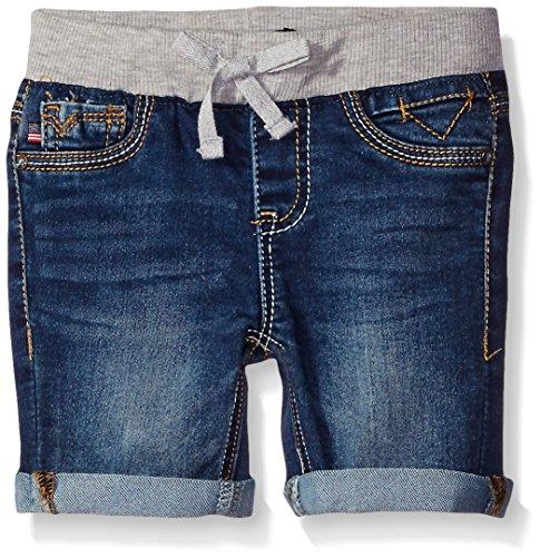 Vigoss Girls' Knit Waist Bermuda Short, True Blue, 6X