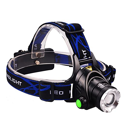 127 opinioni per Lampada da Testa Led Luce Faro Headlights Headlamp con 3 Modalit Ricaricabile,