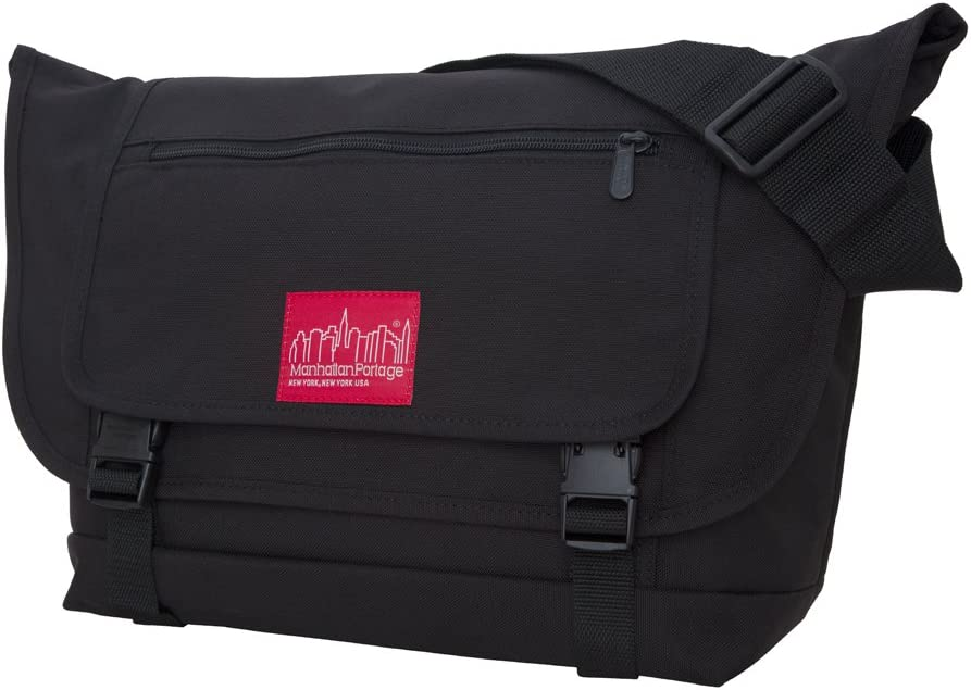 Manhattan Portage Willoughby Messenger Bag, Black, One Size