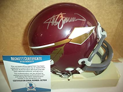 Amazon.com  Steve Spurrier Autographed Mini Helmet - Wash Coach ... bf9e3d176