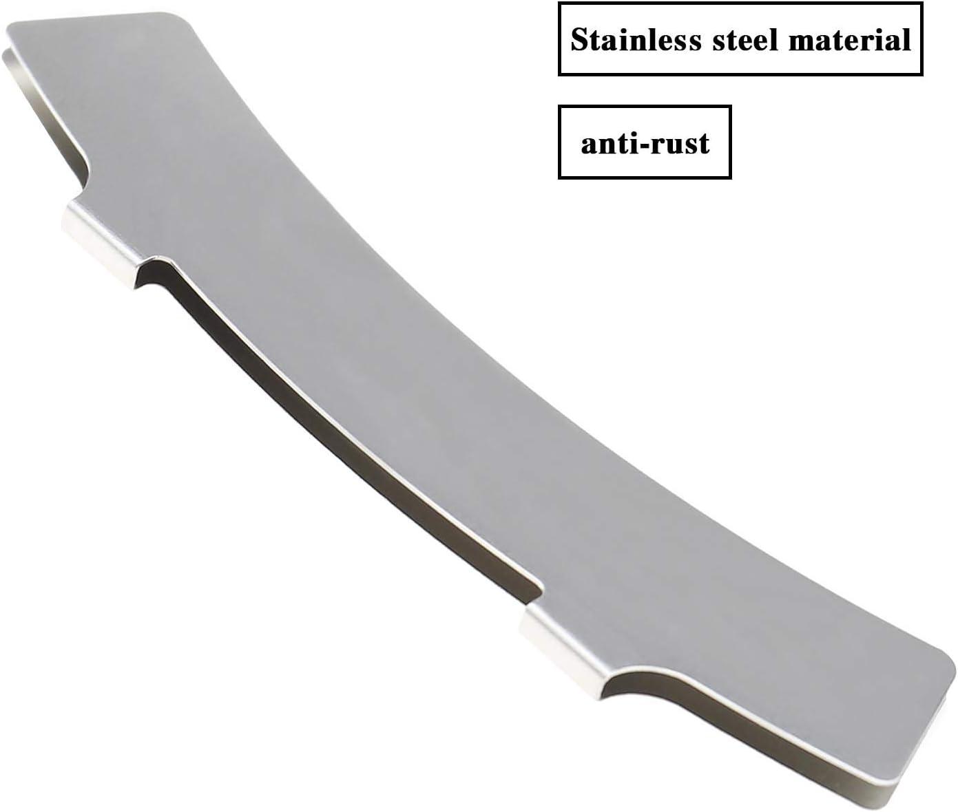 2 Pairs of Bike Arc Disc Brake Pads Gap Regulator Rotor Adjustment Alignment Tool Stainless Steel for MTB Mountain Bike