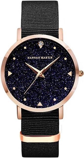 Mujer Relojes, Allskid Estilo romantico Cielo Estrellado Dial ...