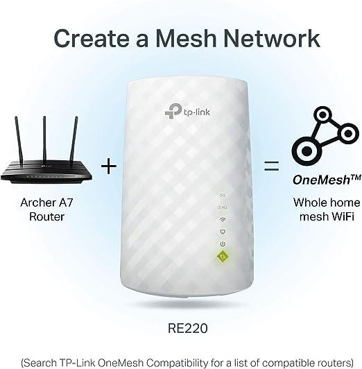 Tp Link Ac750 Wifi Extender Deckt Bis Zu 1200 M Und Computer Zubehör