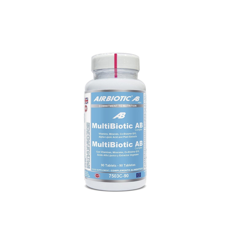Airbiotic AB - MultiBiotic - 90 Tabletas: Amazon.es: Salud y cuidado personal