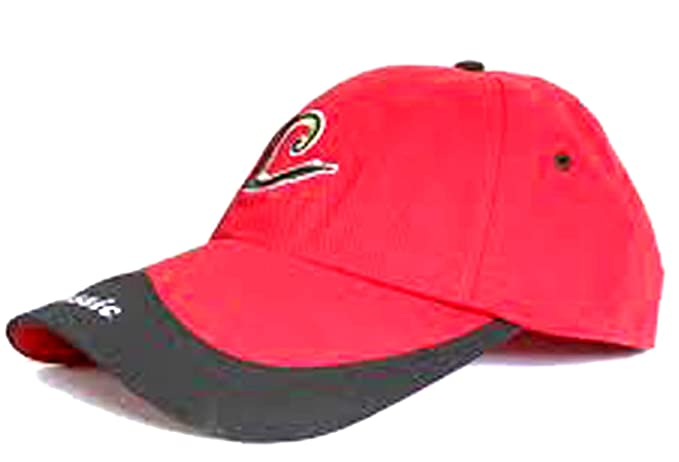 d098a72a4 CIPS Classic Theme Black Red Cap for Mens Womens Cricket Sports ...