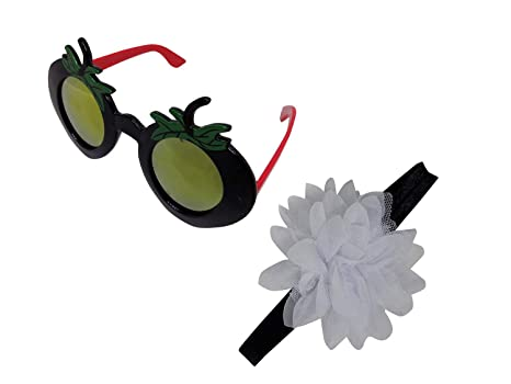 742ebc382a Buy Baal Combo of Funny Sunglasses for Kids Boys and Hair Band Hair  Accessory for Kids Girls