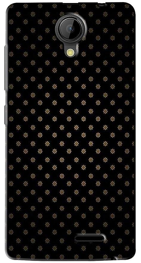 premium selection f4a4a 220c0 FCS Printed Soft Silicon Back Cover for Intex Aqua: Amazon.in ...