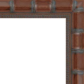 Amazoncom Veedaf 6x9 6 X 9 Brown Bamboo Solid Wood Frame With Uv