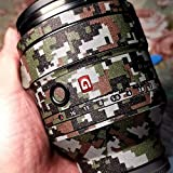 RAYANSPHOTO Lens Guard Skins Wrap Cover Decal Protector Wear Case for Sony Prime Lenses Series Pattern Camouflage (FE 90mm F2.8 G Macro)