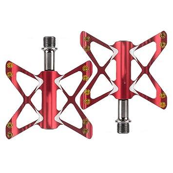 pedales de bicicleta Mountain Bike Scooter MTB inyección aleación de magnesio Cr-Mo CNC mecanizado