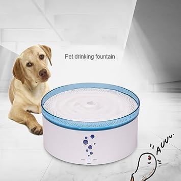 PLHF Dispensador de agua inteligente para mascotas Filtración automática de bucle Perro gato Fuente de agua