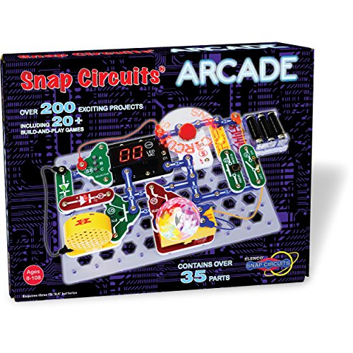 Snap Circuits Arcade Electronics Discovery Kit - coolthings.us