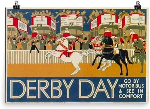 Derbyshire British Railway Vintage Retro Old Advert Photo Reproduction Poster