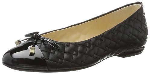 Womens 4-10 1060 0100 Closed Toe Ballet Flats Högl oxkA5Tcj4P