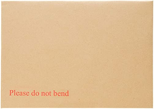 "125 A5//C5 PIP Board Backed Envelopes Peel /& Seal /""Please Do Not Bend/"" 238 x 163"