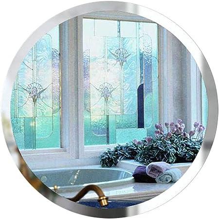 XN Mirror Miroir de Salle de Bains Arrondi Miroir monté sans ...