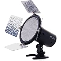 YONGNUO YN216 YN-216 LED Video Camera Light with Adjustable 3200K-5500K Color Temperature and 4 Color Plates for Canon…