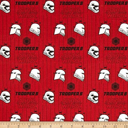 "CAMELOT Fabrics"" Star Wars The Force Awakens Storm Trooper,"