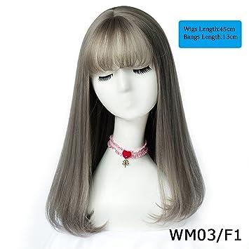 Haare von braun zu grau farben