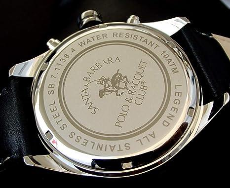 Santa Barbara Polo Racquet Club SB.7.1138.4 Reloj de Pulsera para ...