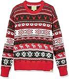 Ugly Fair Isle Unisex Jacquard Holiday Animals Crewneck Sweater