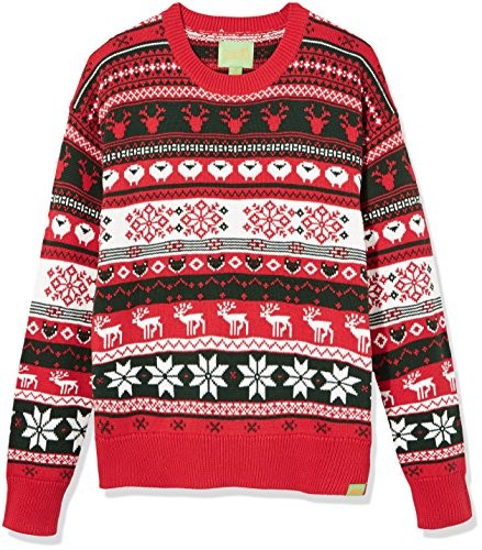 Ribbed Cotton Crewneck Sweater - 5