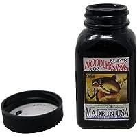 Noodler's Black Waterproof Fountain Pen Ink - Bulletproof,3 ounce