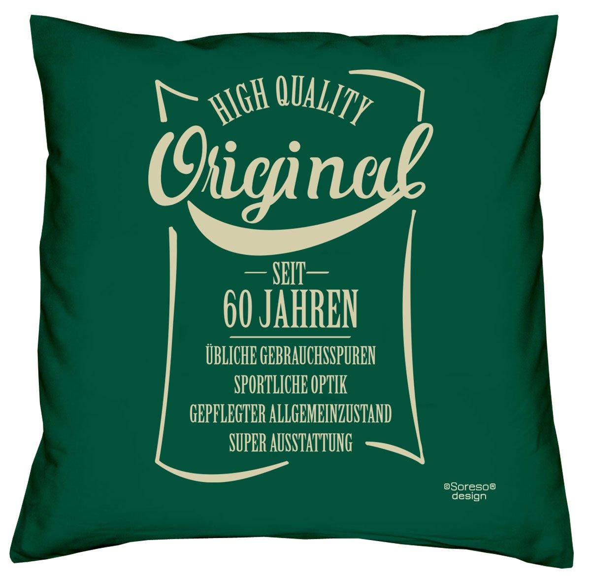 Original desde 60 años - Cojín con relleno - Regalo de ...