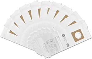 Hoover CU2 Commercial Upright Paper Bags 10 PK : AH10143