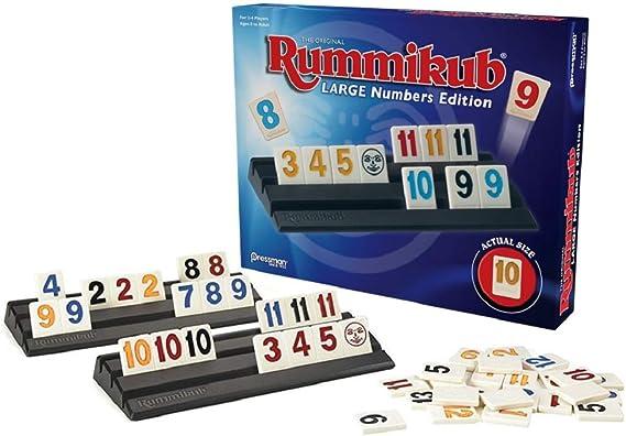 Pressman Toy Rummikub: Large Numbers Edition: Amazon.es: Juguetes y juegos