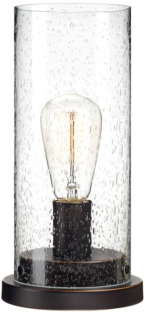 Libby seeded glass 12 high edison bulb accent lamp table lamps libby seeded glass 12 high edison bulb accent lamp table lamps amazon mozeypictures Image collections