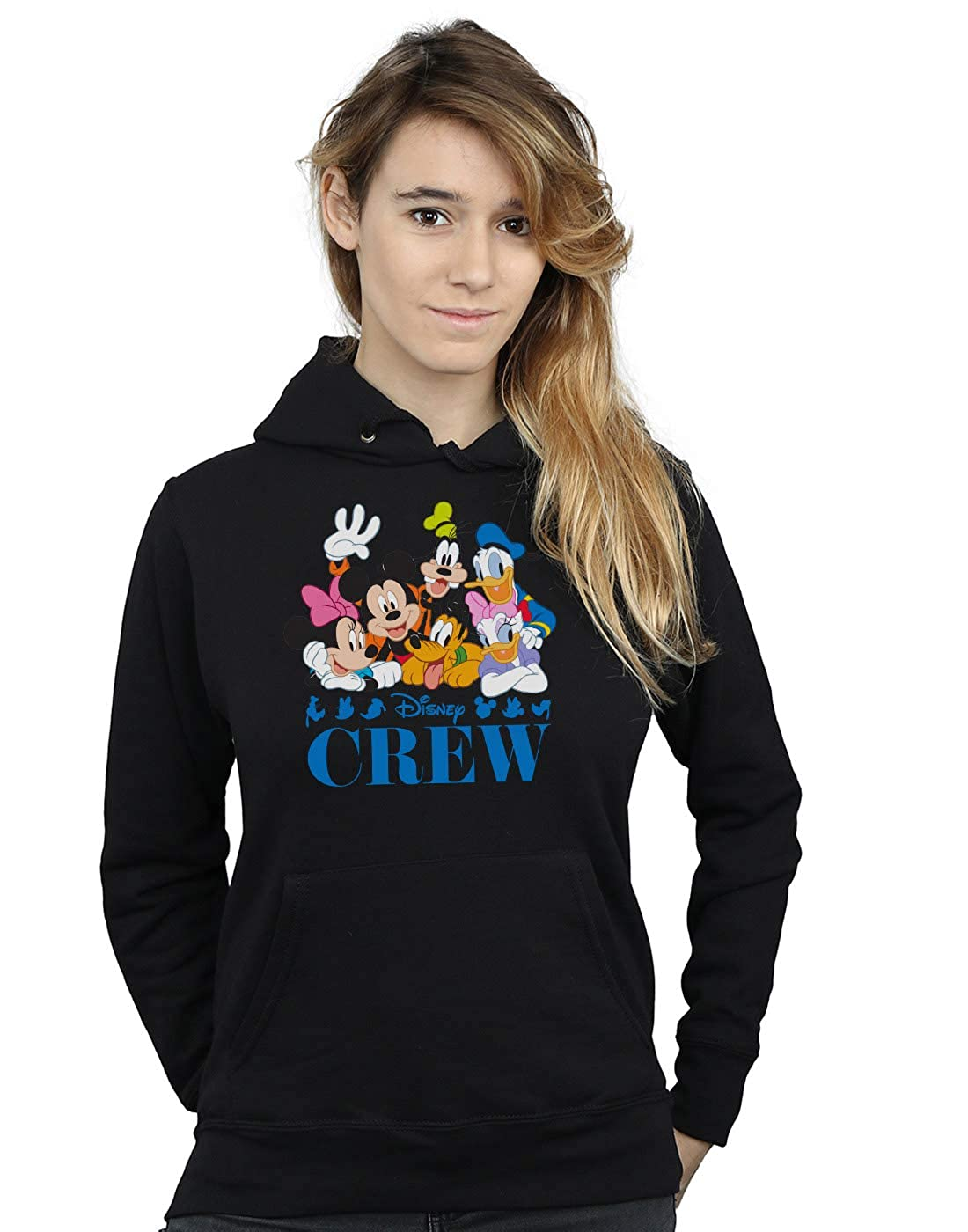 Disney Mujer Mickey Mouse Disney Friends Capucha: Amazon.es: Ropa y accesorios