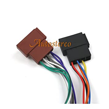 amazon com autostereo car radio stereo cable wire harness cd plug rh amazon com