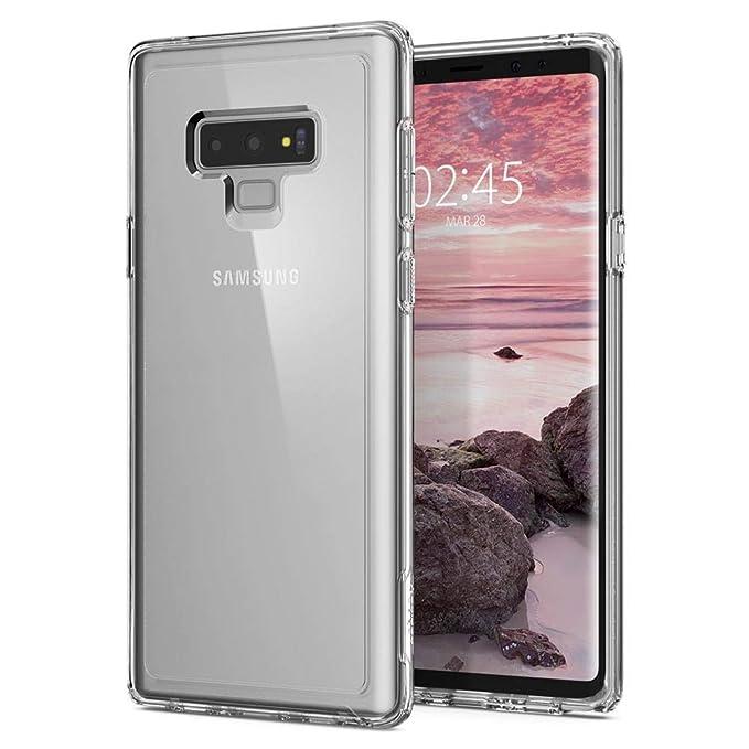 cheap for discount 50e55 ca4b1 Spigen Slim Armor Crystal Galaxy Note 9 Case with Air Cushion Technology  for Galaxy Note 9 (2018) - Crystal Clear